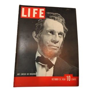 Life Magazine 1938 Wartime, Abe Lincoln