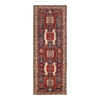 "Ardabil Vintage Persian Rug, 3'9"" x 10'0"""