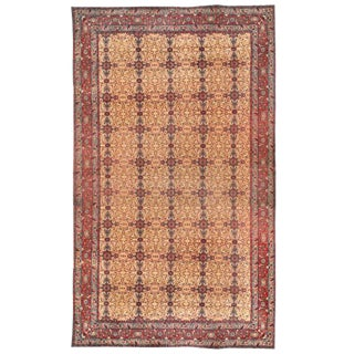 Antique 19th Century Indian Carpet