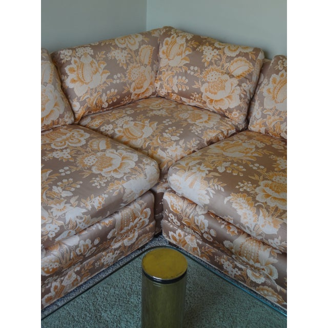 Baker Furniture Armless Sectional Sofa - 3 Pieces - Image 2 of 10