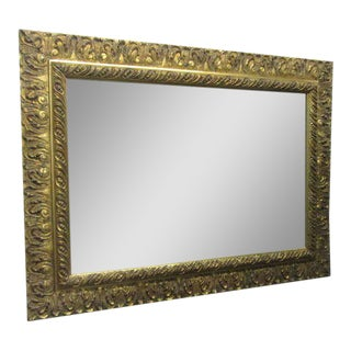 Gold Gilt Rectangular Mirror