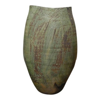 Studio Sculptural Matte Glaze Vase