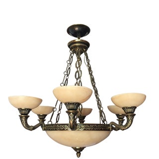 Mariner S.A. Spain Alabaster Chandelier