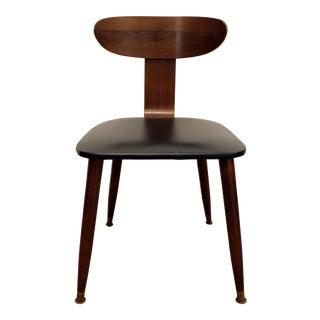 Mid-Century Danish Modern Walnut Side Chair