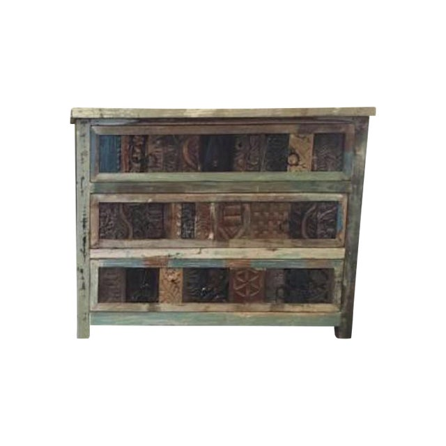 Hand-Crafted Reclaimed Dresser - Image 1 of 4