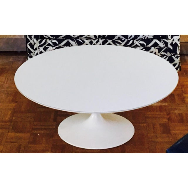 Eero Saarinen For Knoll Pedestal Coffee Table Chairish
