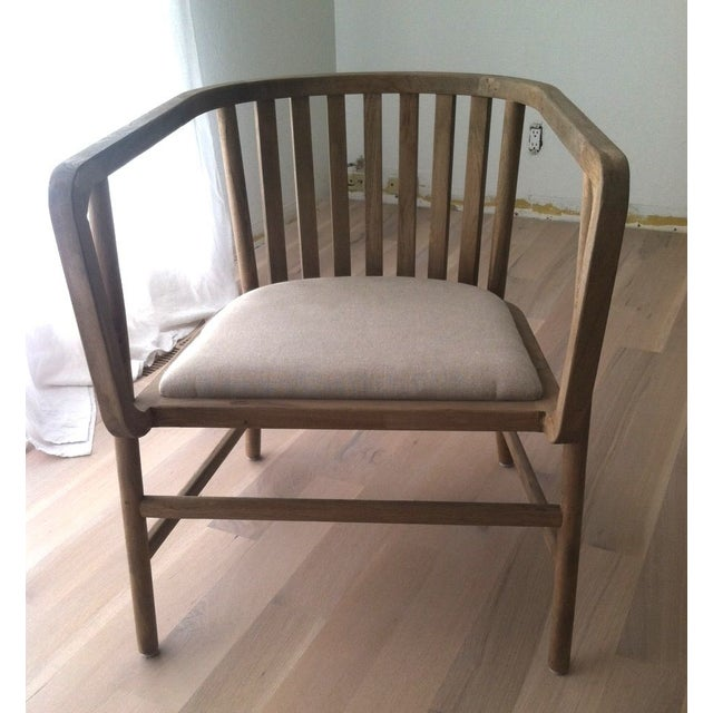HD Buttercup Oak Club/ Dining Chair - Image 3 of 8