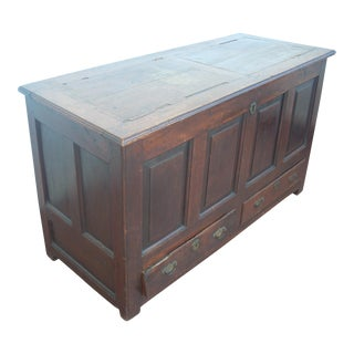 Wooden Tobacco Storage Chest
