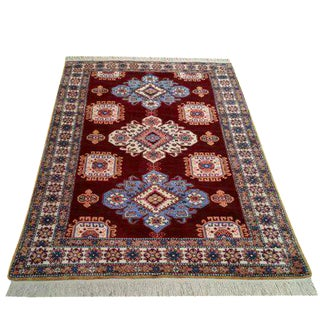 4'1' 'X 6'6'' Vintage Persian Ardebil Hand Made Rug - Size Cat. 4x6 5x7