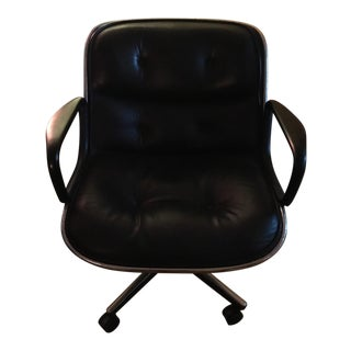 Knoll Intl. Leather Pollock Executive Chair