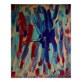 """Seduction"" Original Abstract Painting"