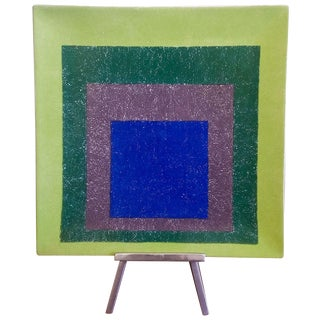 Josef Albers Homage to a Square Platter Ltd. Edtn