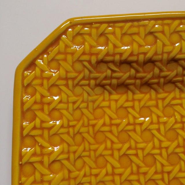 Yellow Italica Ars Cane Ashtray - Image 6 of 7