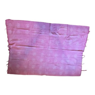 Pink Mud Cloth Fabric