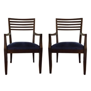 Crate & Barrel Armchairs - A Pair