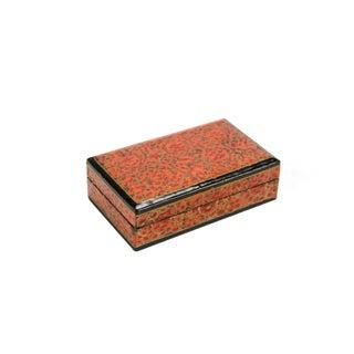 Petite Amber Kashmiri Jewelry Box