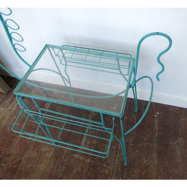 Frederick Weinberg Side Table Bar Cart - Image 5 of 7