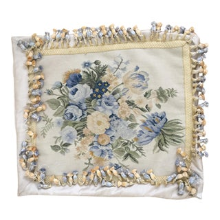 Floral Needlepoint Pillow Cover