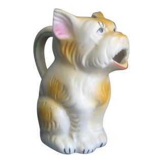 1930's Japanese Scottie Dog Pitcher