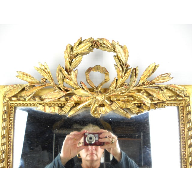 19th Century Louis XVI French Mirror - Image 4 of 6
