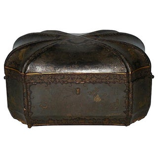 19th Century Chinese Export Tea Caddy