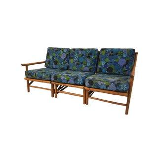 Rattan Sectional Sofa - Set of 3