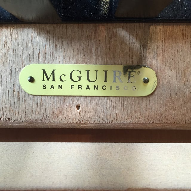 McGuire Huxley Martini Table - Image 10 of 10