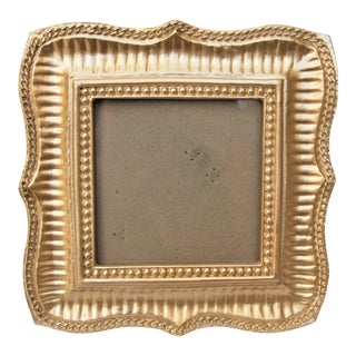 "Silver Colored 4"" X 4"" Picture Frame"