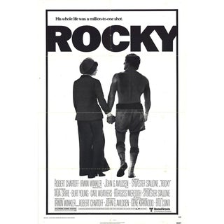 Rocky 1976 Poster
