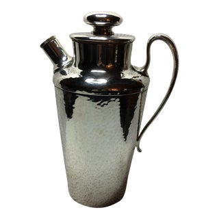 1930's Meriden Silver Plate Co. Cocktail Shaker