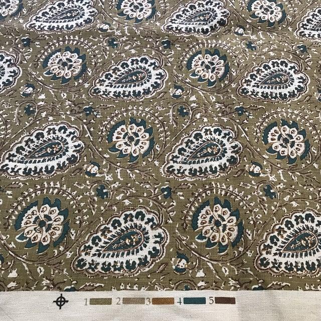 "Jasper ""Agra"" Fabric- 1 1/4 Yards - Image 3 of 6"