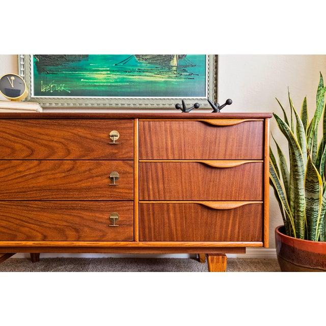 Stanley 6 Drawer Mid Century Modern Dresser Chairish