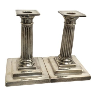 Gorham Sterling Silver Candle Holders - A Pair