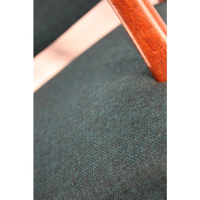 Kaare Klint Style Teak Armchairs - A Pair - Image 4 of 5
