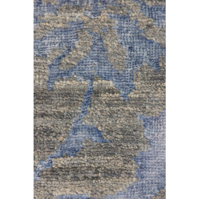 """Image of Contemporary Hand Knotted Area Rug - 4' X 6'5"""""""