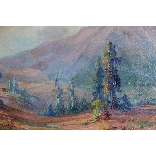Martella Cone Lane -California Landscape -Oil Painting -Impressionist C.1920s - Image 8 of 10