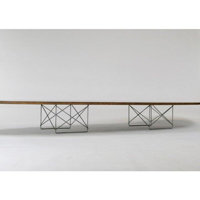 "Eames Elliptical ""Surfboard"" ETR Coffee Table - Image 3 of 11"