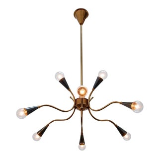 1950s Solid Brass Italian Sputnik