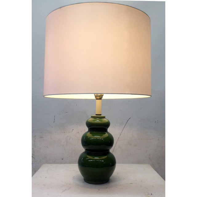 1960's Mid-Century Modern Ceramic Lamps - Pair - Image 6 of 6