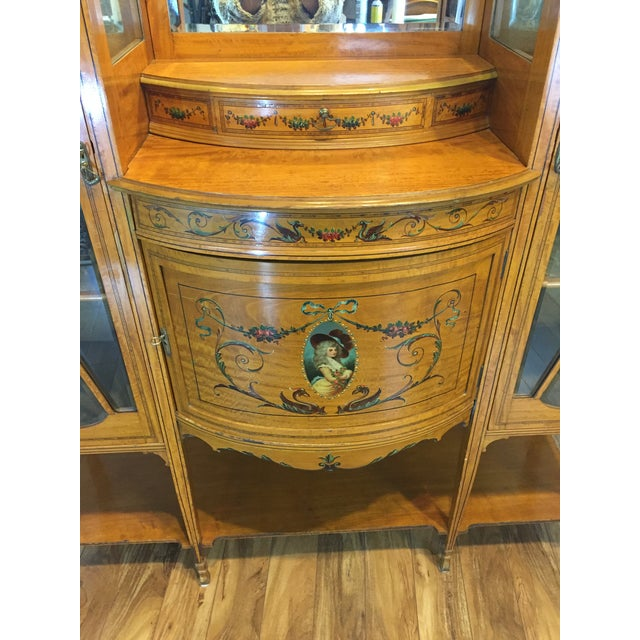 Antique European Display Hutch - Image 6 of 11