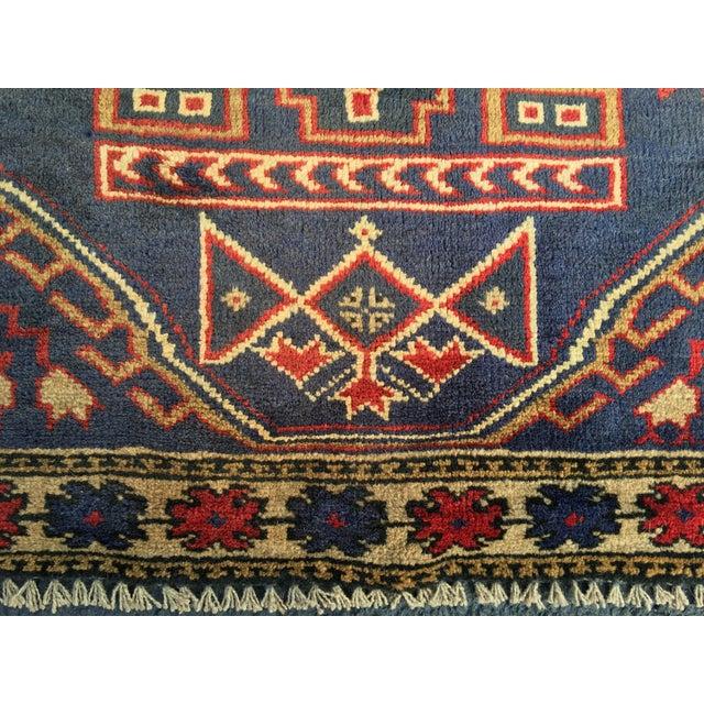 "Vintage Persian Baluchi Rug - 2'10""x4'9"" - Image 4 of 10"