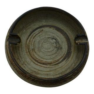 Mid-Century Pottery Cigar Ashtray