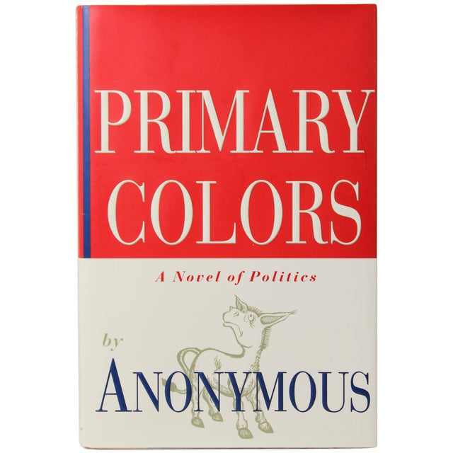 primary colors first edition book image 1 of 5 - Primary Colors Book
