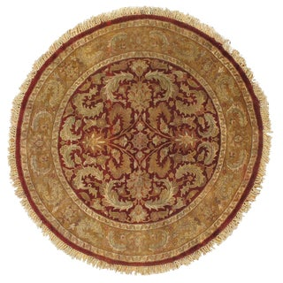Pasargad NY Fine Agra Hand-Knotted Rug - 6' X 6'