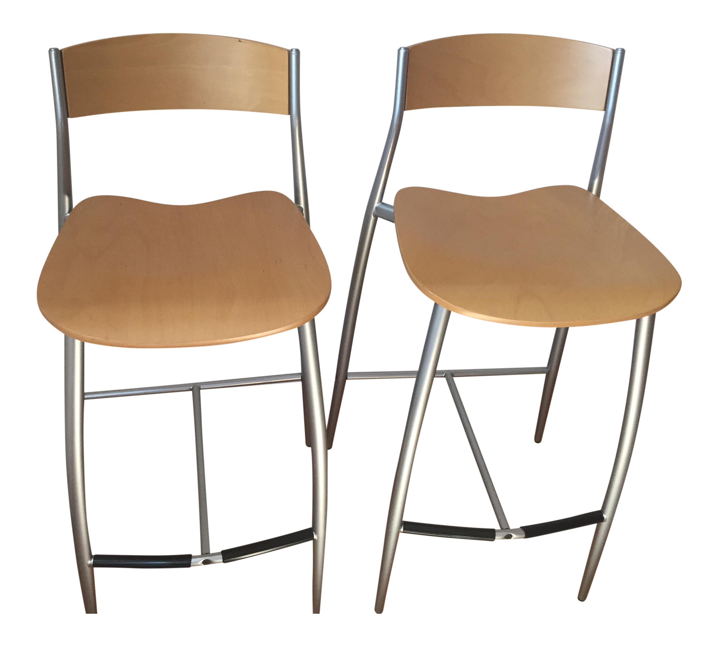design within reach baba barstools a pair