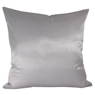 Iridescent Platinum Pillow
