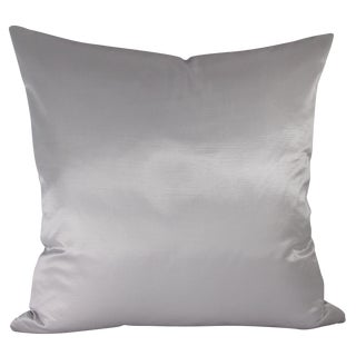 Iridescent Platinum Pillow