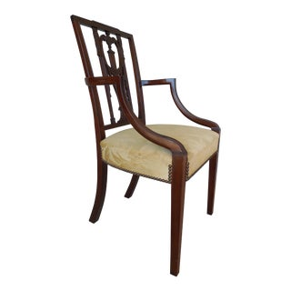 Wallace Nutting Original Square Back Federal Style Armchair