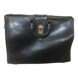 Vintage Leather Doctor's Bag