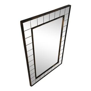 Vintage Glass Framed Mirror